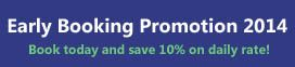Early booking discount promotion - Kos Island